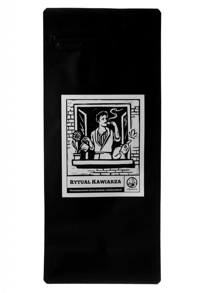 Kawa Rytuał Kawiarza 90/10 1000g ziarnista