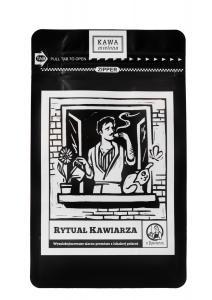 Kawa Rytuał Kawiarza 90/10 250g mielona