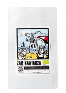 Kawa Żar Kawiarza 100% arabika organic 250g ziarnista