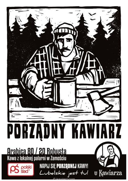Kawa z lokalnej palarni Porządny Kawiarz Arabica 80 / 20