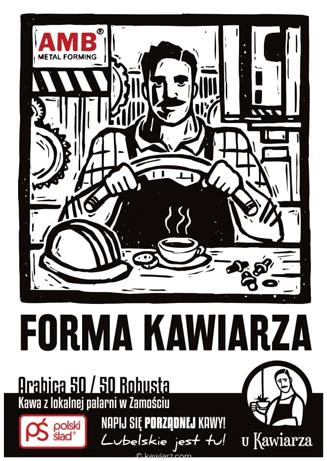 Forma Kawiarza Arabica 50 / 50 Robusta