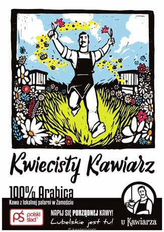 Kwiecisty Kawiarz 100% Arabica