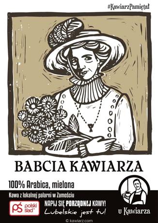Babcia Kawiarza 100% Arabica, mielona