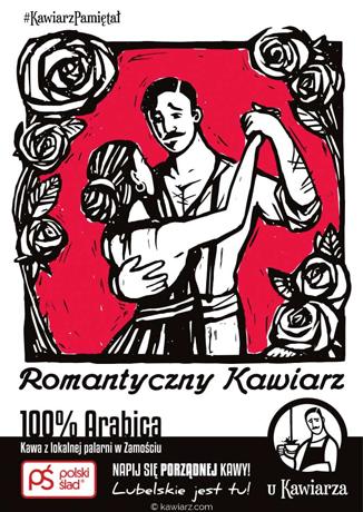 Romantyczny Kawiarz 100% Arabica