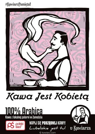 Kawa Jest Kobietą 100% Arabica