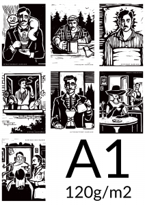 Plakat A1 papier 120g