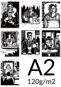 Plakat A2 papier 120g