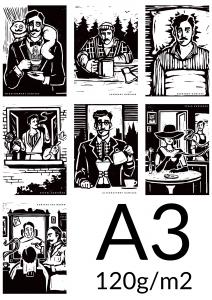 Plakat A3 papier 120g