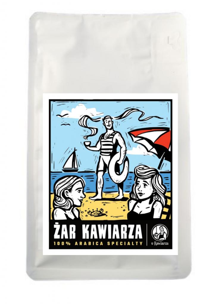 Kawa Żar Kawiarza 100% arabika specialty 250g mielona