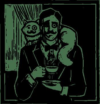 Etykieta Wyrafinowany Kawiarz