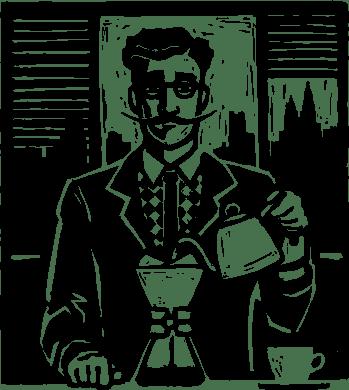 Etykieta Alternatywny Kawiarz